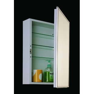 Reviews Schloss 16 x 22 Recessed Medicine Cabinet By Winston Porter