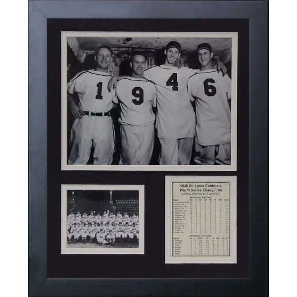1946 St. Louis Cardinals Jerseys Framed Memorabilia by Legends Never Die