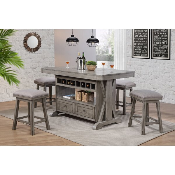 Vergara Kitchen Island Set by Ophelia & Co.