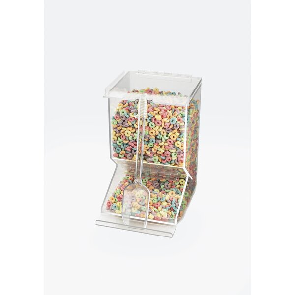 249.35 Oz. Single Canister Stackable Bulk Cereal Dispenser by Cal-Mil