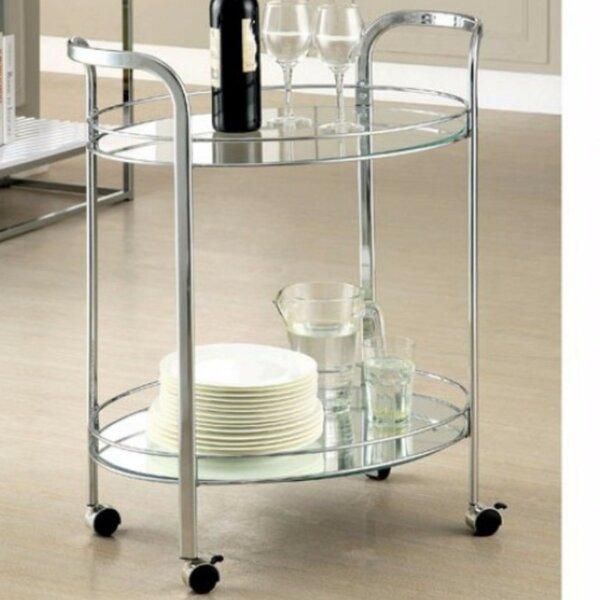 Burchfield Serving Bar Cart by Ebern Designs