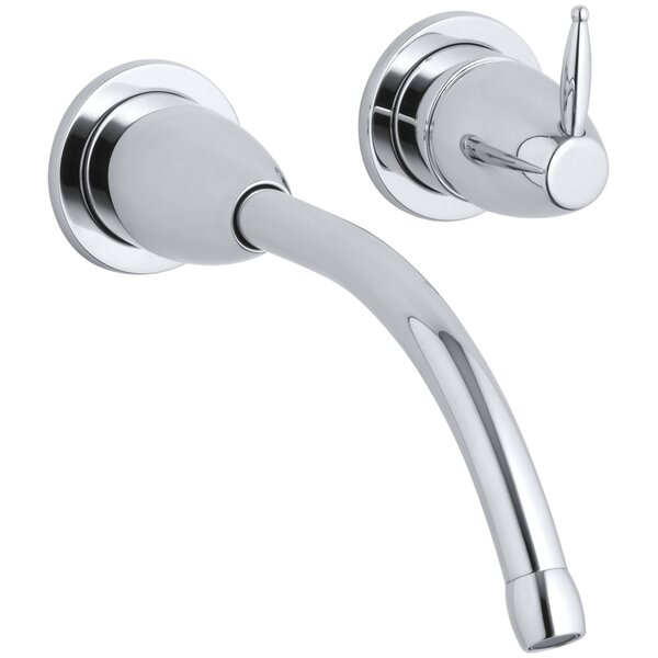 Falling Water Wall-Mount Bathroom Sink Faucet Trim with 8-1/4 Spout, Requires Valve by Kohler