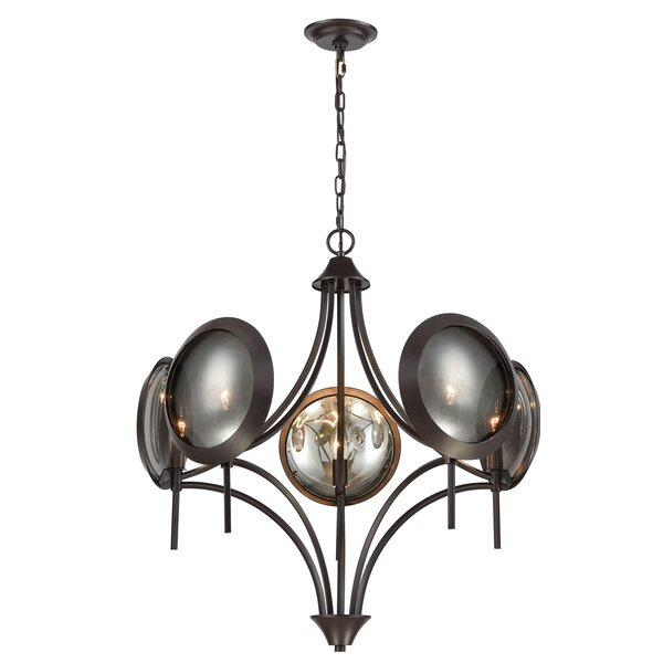 Caravelle 5-Light Novelty Chandelier by Ivy Bronx