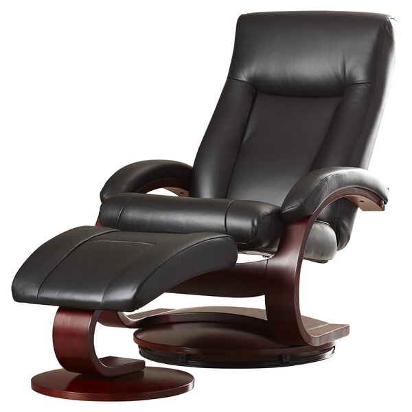 Flathead Lake 54 Series Leather Swivel Recliner Wi