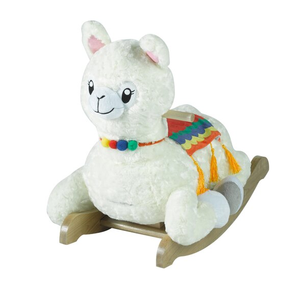 Dolly Llama Rocker by Rockabye