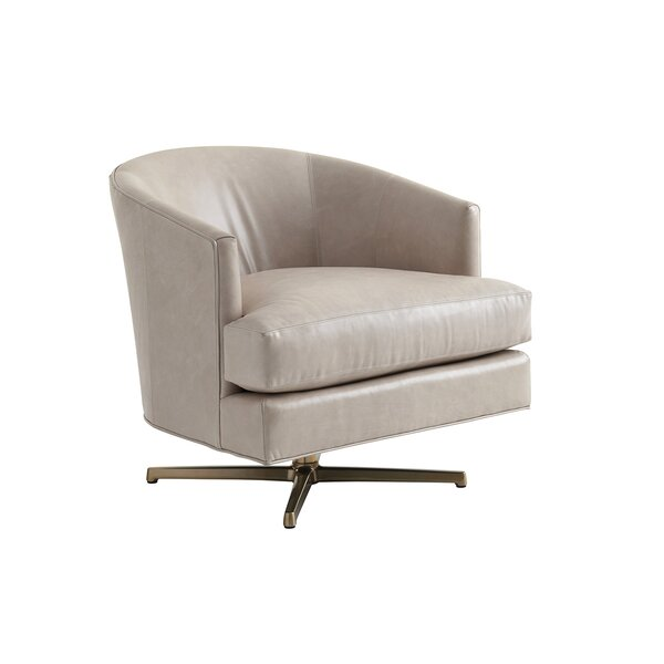 Zavala Graves Swivel Barrel Chair by Lexington