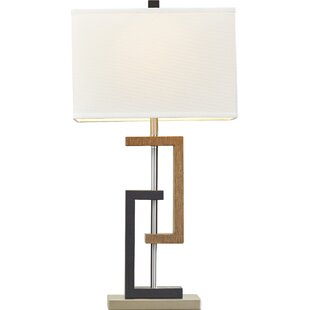 Modern contemporary table lamps allmodern oliver 2875 table lamp set of 2 aloadofball Choice Image
