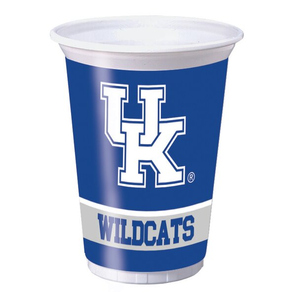 NCAA 20 oz. Plastic Everyday Cup (Set of 24) by Creative Converting
