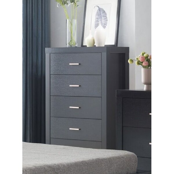 Abbotsfield 5 Drawer Chest by Latitude Run