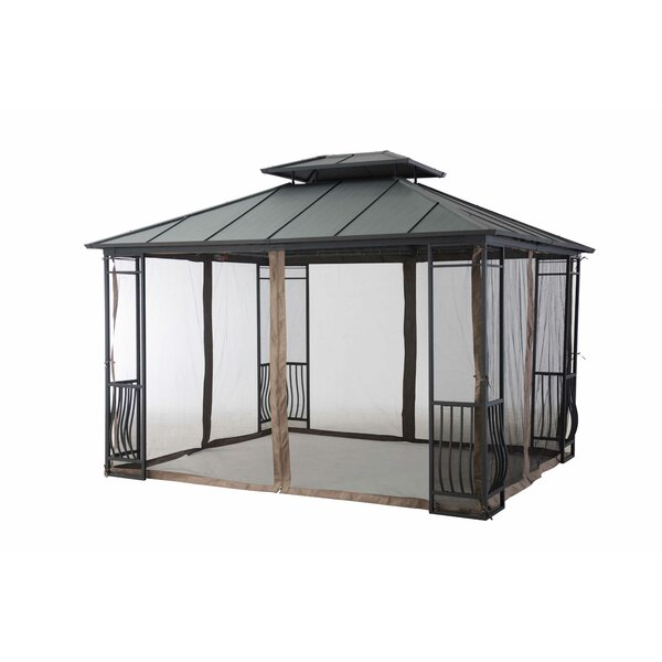 Universal Netting for 10 Ft x 12 Ft Gazebo by Sunjoy