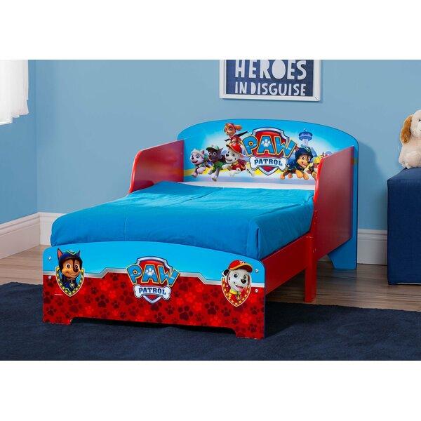 Nick Jr. Paw Patrol Wood Toddler Platform Bed by Delta Children