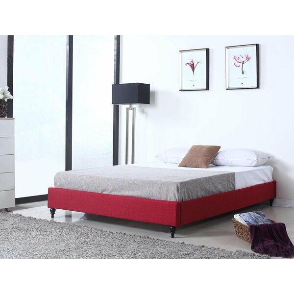Juri Inspired Twin Upholstered Bed by Red Barrel Studio