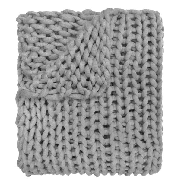 Charest Chunky Knitted Acrylic Throw by Gracie Oaks