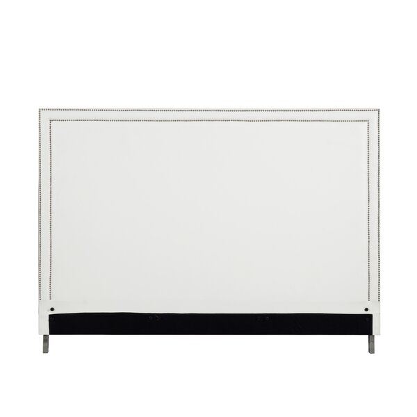 Dahms Nailhead Trim Upholstered Panel Headboard by Orren Ellis