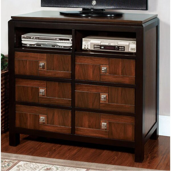 Rountree 6 Drawer Media Chest by World Menagerie