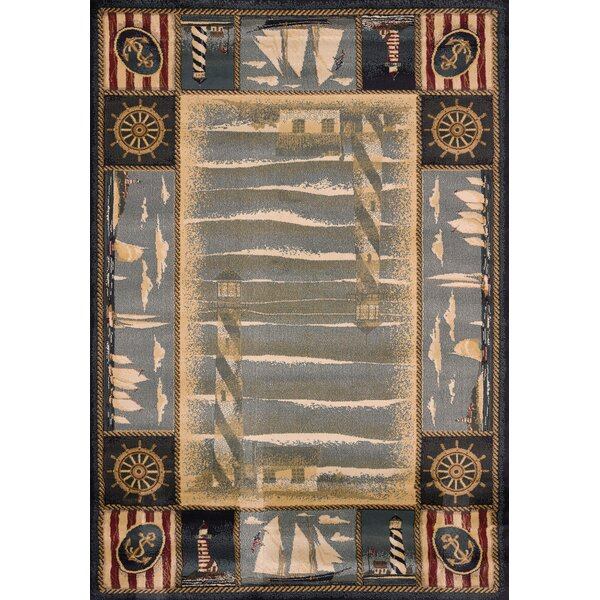 Genesis Blue Yachtsmen Area Rug by United Weavers of America