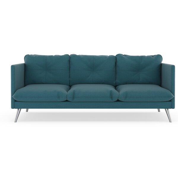Rodrick Oxford Weave Sofa by Brayden Studio
