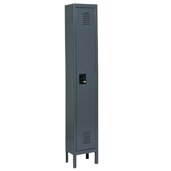 1 Tier 1 Wide School Locker by Edsal-Sandusky