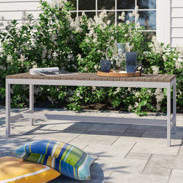 Caspian Aluminum Picnic Bench by Sol 72 Outdoor