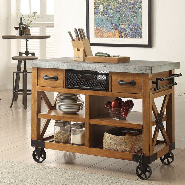Delahunt Kitchen Cart by Gracie Oaks