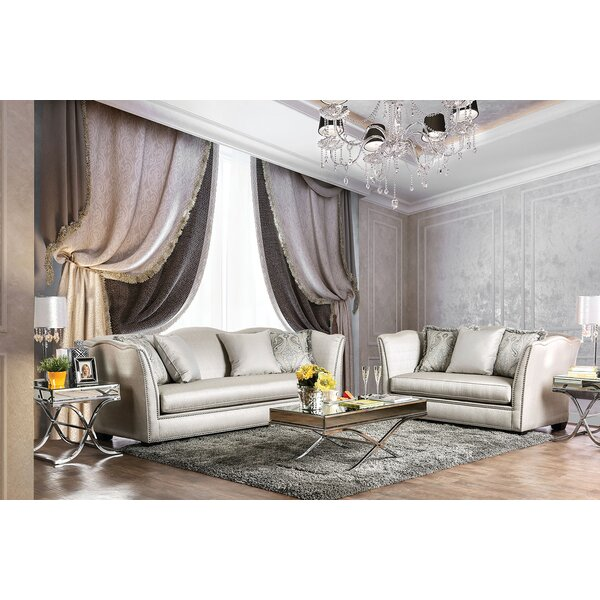 Minneapolis 2 Piece Living Room Set by Andrew Home Studio