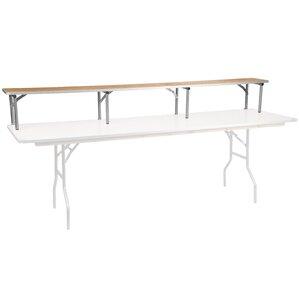 Brandes Birchwood Bar Top Riser by Ebern Designs