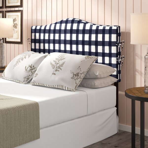 Trina Linen Upholstered Panel Headboard by Laurel Foundry Modern Farmhouse