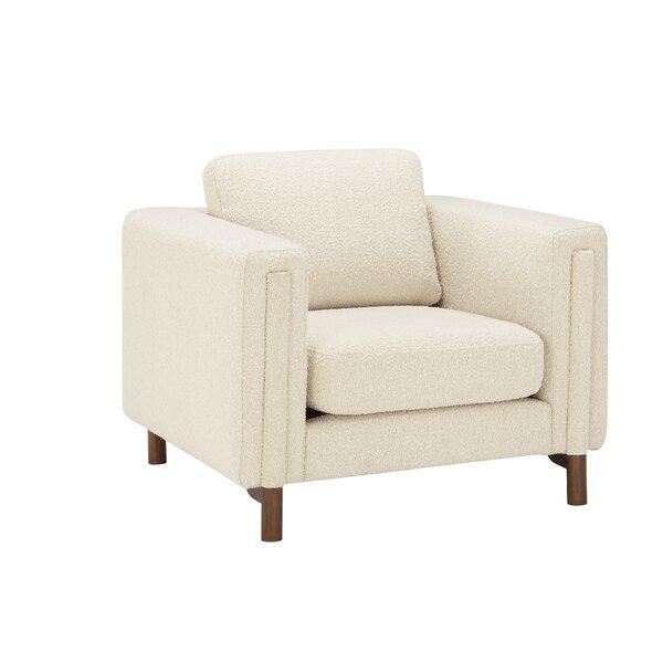 Bobby Berk Upholstered Larsen Chair Ivory Boucle By A.R.T. Furniture By Bobby Berk + A.R.T. Furniture