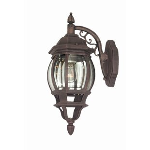 Find Basic 1-Light Outdoor Wall Lantern By Woodbridge Lighting