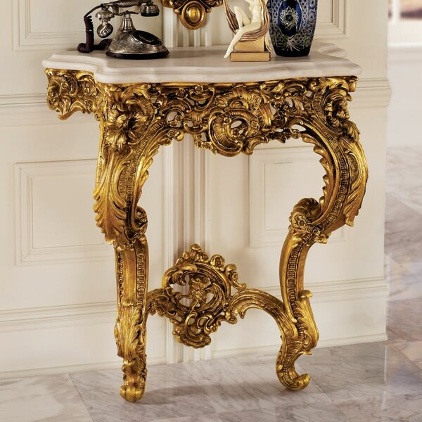 Madame Antoinette Wall Console Table by Design Toscano Design Toscano