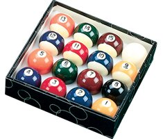 Action Billiard Balls Standard Ball Set by Action