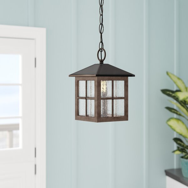 Ellingsworth 1-Light Hanging Foyer Pendant by Bay Isle Home