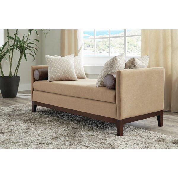 Kenisha Upholstered Bench by Red Barrel Studio Red Barrel Studio