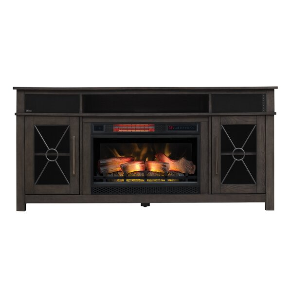 Deloris 63 TV Stand with Fireplace by Canora Grey