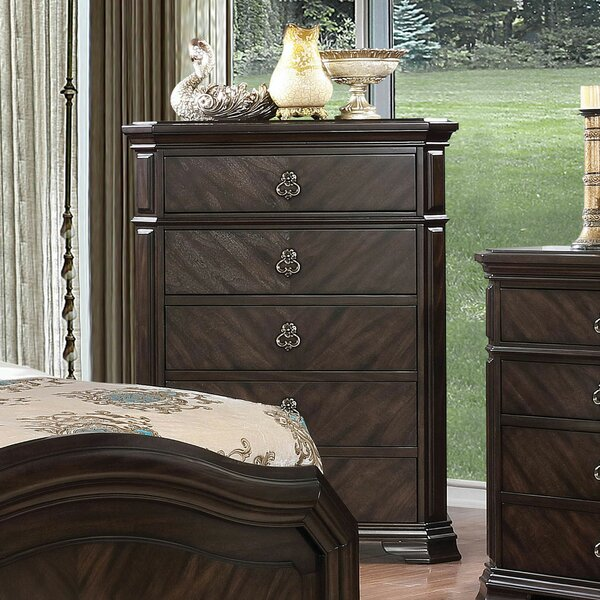 Futrell 5 Drawer Chest by Astoria Grand
