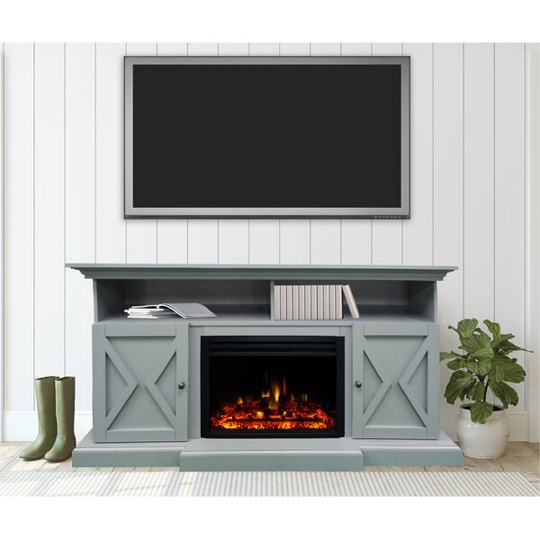 Check Price Summit Farmhouse TV Stand For TVs Up To 70