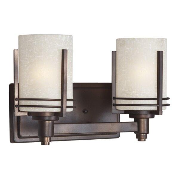 Sharp 2-Light Vanity Light by World Menagerie