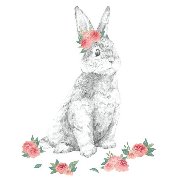 Washington The Bunny Wall Decal Kit by Harriet Bee