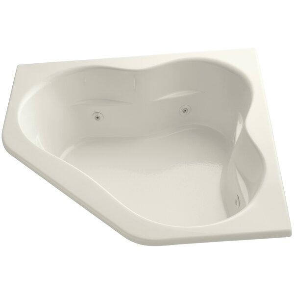 Tercet 60 x 60 Drop in Air/Whirlpool Bathtub by Kohler