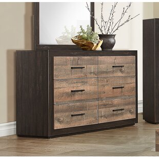 Slade 6 Drawer Double Dresser by Union Rustic