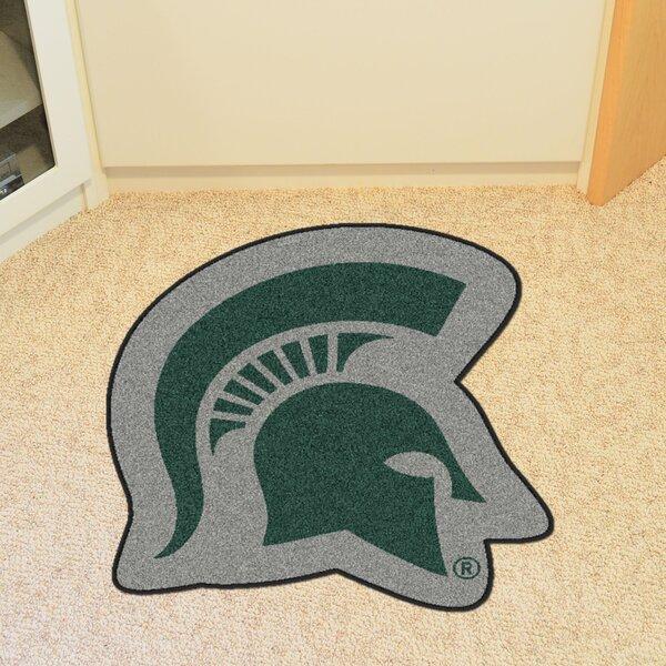 NCAA Michigan State University Mascot Mat by FANMATS