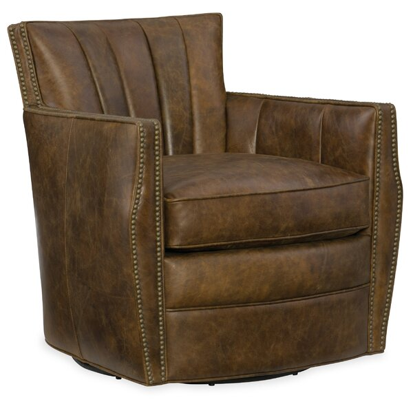 Carson Swivel Armchair by Hooker Furniture