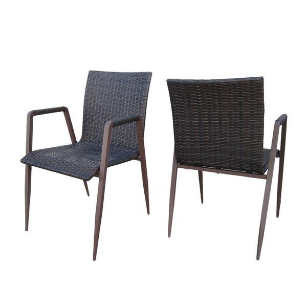 Prestbury Patio Dining Chair (Set of 2) by Bay Isle Home