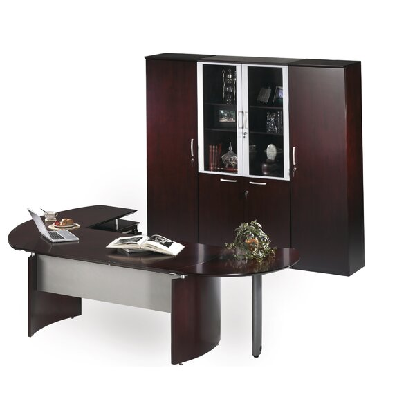 Ulster 4-Piece Office Set with Hutch
