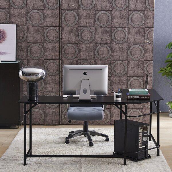 Menasha L-Shape Executive Desk