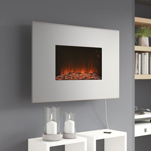 Yawen Wall Mounted Electric Fireplace by Orren Ellis