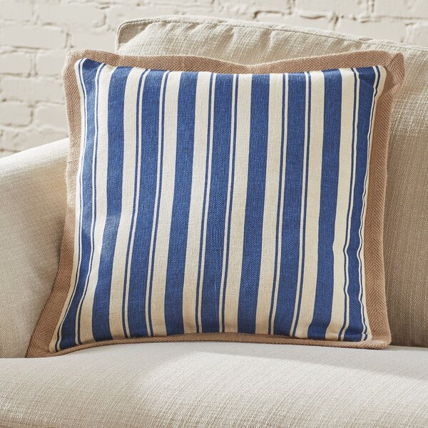 Denison Jute Trim Pillow Cover by Birch Lane™