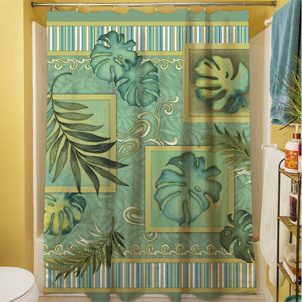 Tropic of Cancer Shower Curtain by Manual Woodworkers & Weavers