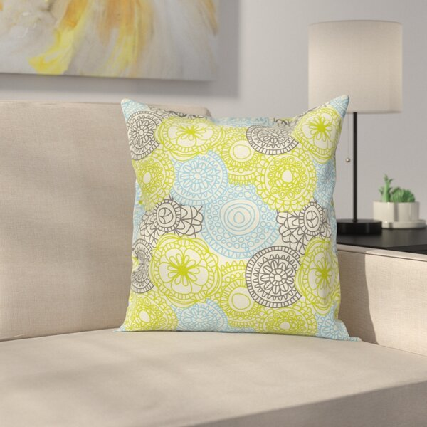 Removable Square Pillow Cover by East Urban Home