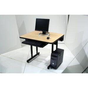 Inch Computer Desk Wayfair - Desks incorporate recessed computer technology